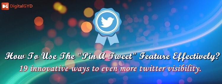 How to pin a tweet, unpin a tweet in 2018