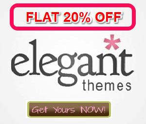 Elegant themes discount coupon
