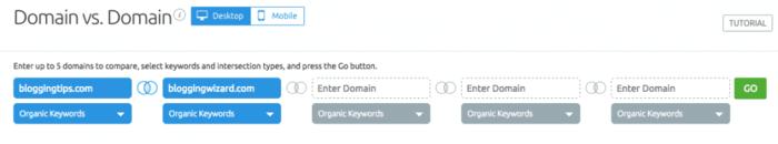 Domain vs domain feature