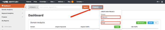 How to add a new site to launch a project