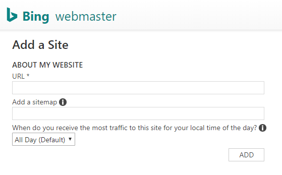 How to submit a sitemap to Bing using the Bing Webmaster tool