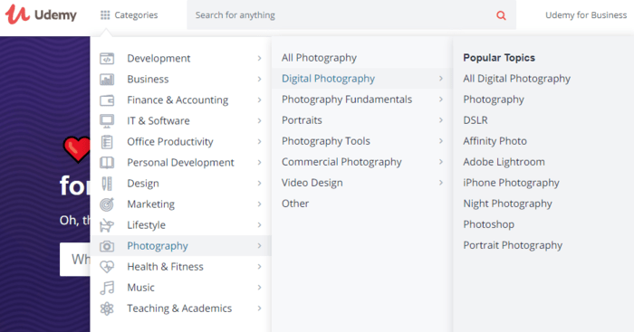 Udemy has got a vast list of courses (which you can take as market or sub market to further generate niche ideas from them)