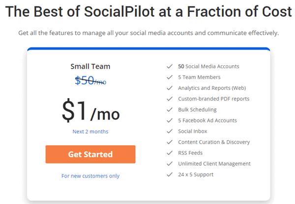 SocialPilot Discount Coupon